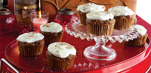 Carrot and Date Cupcakes