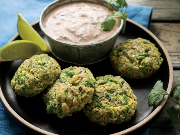 Green Pea Poppers