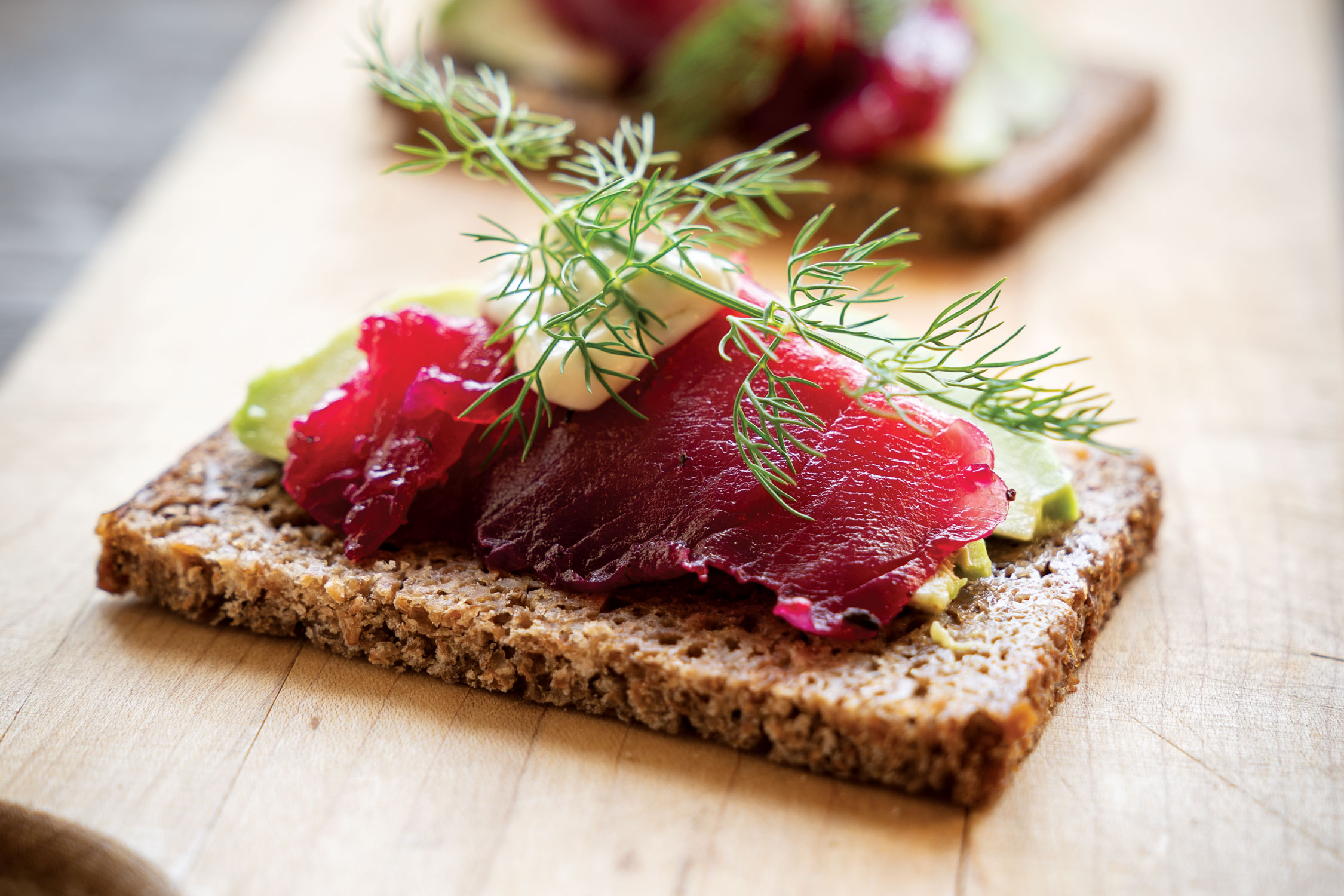 Beet Cured Arctic Char